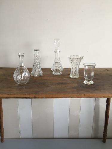 Small Crystal Glasswear