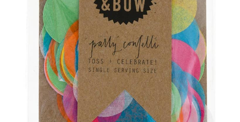 Single Serving Size Confetti - Knot & Bow