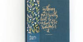 Field Floral 5 Year Memory Book