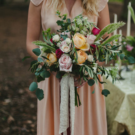 A Simple Garden Styled Shoot