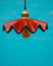 Ceiling Lamp_Clay_Mexican Pottery_Puntos