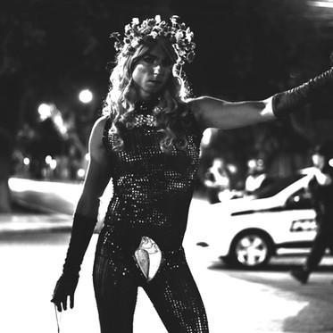 """""""No me disfrazo de mujer, soy una drag, mi amor"""""""