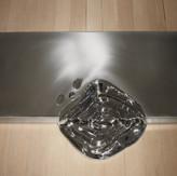 心 Ⅲ  Heart Ⅲ  2014   stainless steel   h 4 × 92 × 36 cm.jpg