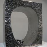 穴の中の風景   The scenery inside the hole   2009  stainless steel  h 40×34×20cm.jpg