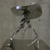 大地の気運  Tendency of earth 2005  stainless steel  h 38×35×30cm.JPG