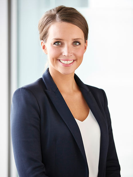 legal & general, young business woman in smart jacket, business portrait