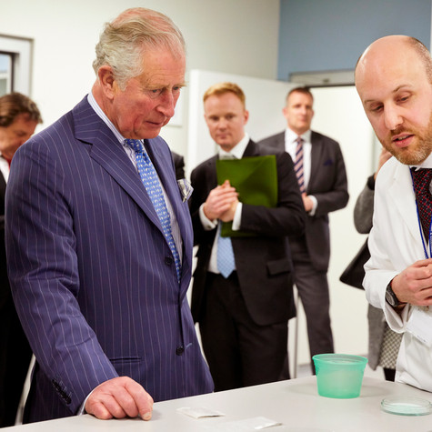 HRH The Prince of Wales - Polymateria