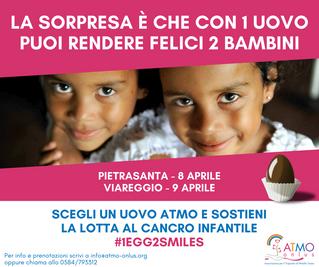 #1Egg2Smiles: a Pietrasanta e a Viareggio contro il cancro infantile