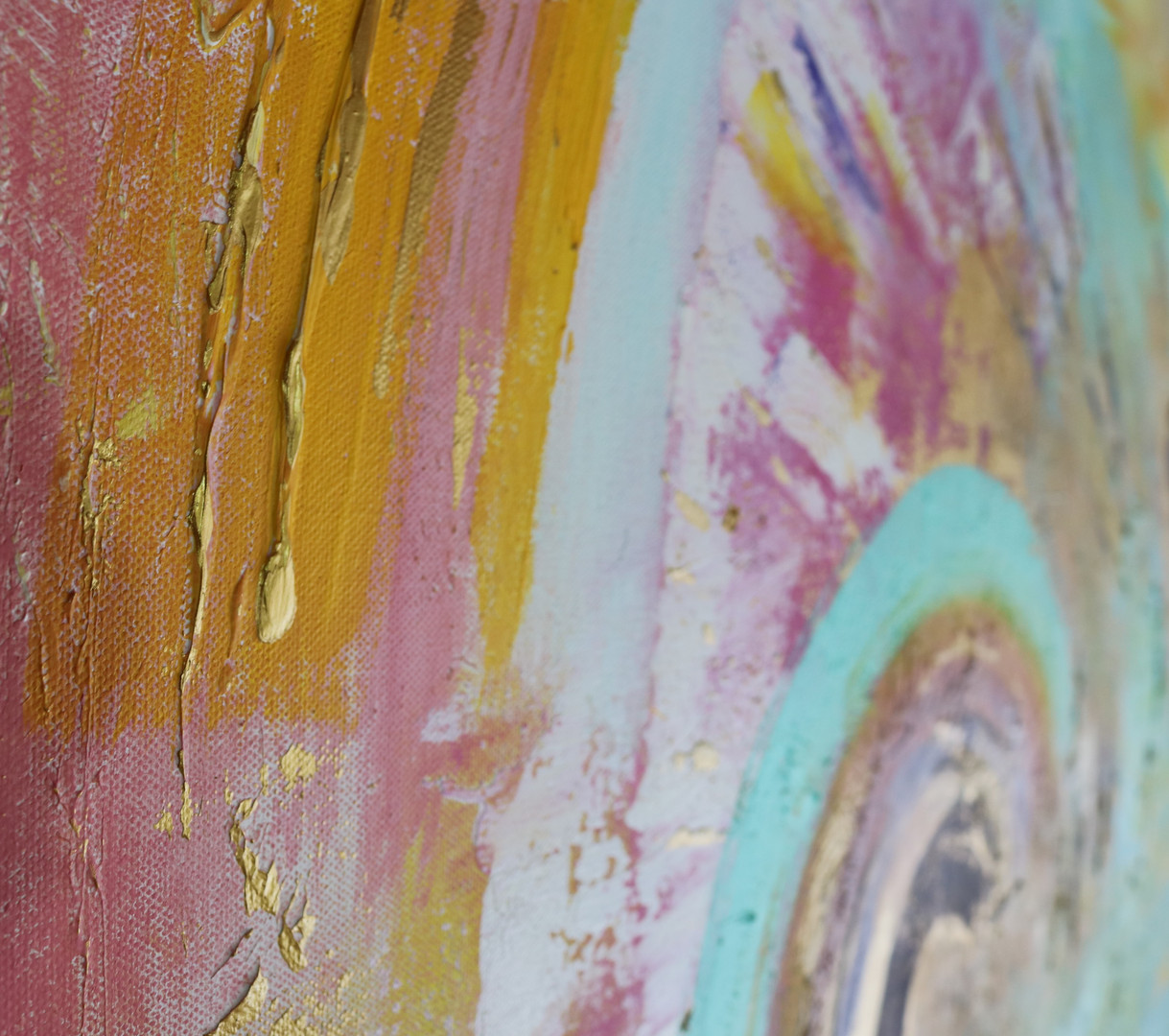 """""""Rainbows"""" (detail)"""