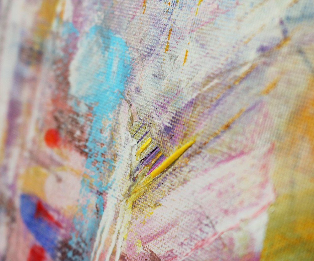 Multidimensional (detail), acrylic on canvas, 70x50cm, signed