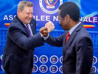 A.N : Mboso et Hammer approfondissent des discussions autour de la coopération RDC-USA