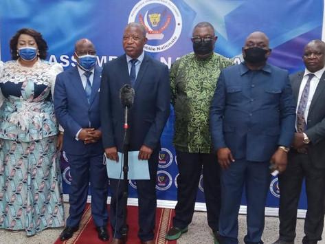 Dossier CENI: La commission mixte paritaire parlementaire dépose ses conclusions au président Mboso