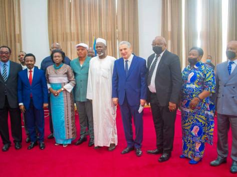 A.N : Les diplomates africains chez Mboso pour accompagner le processus électoral