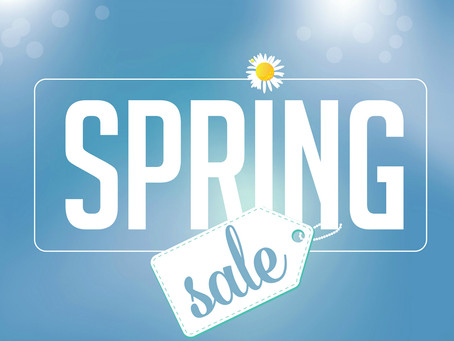 Plan Your Spring Sales- March 13, 2021