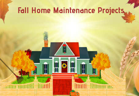 (6) Home Maintenance Projects This Fall
