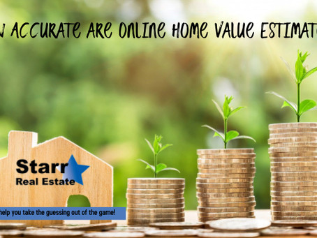 How Accurate are Online Home Value Estimates?