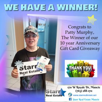 Winner: Patty Murphy
