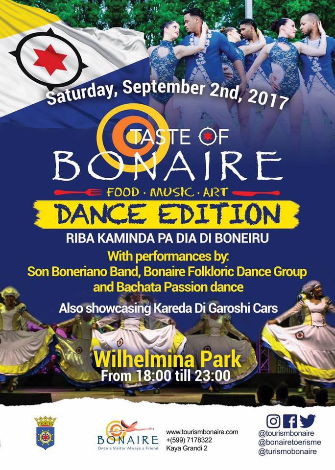 XpBonaire, IslandLife, Bonaire, Information, events, entertainment, Taste of Bonaire, TCB