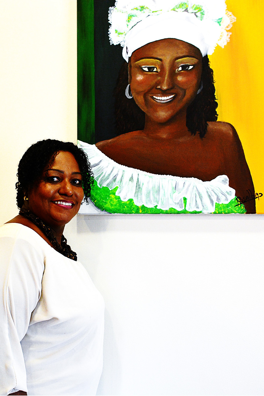 XpBonaire, IslandLife, Bonaire, News, Information, TCB, Art Exhibition, Rosalba Figaroa