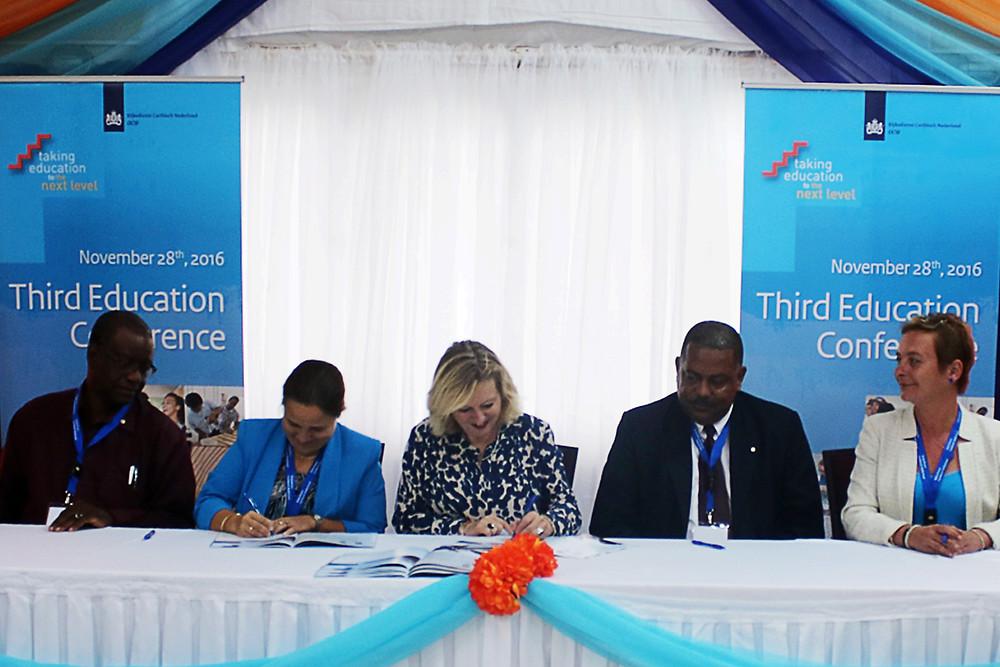 XpBonaire, IslandLife, Bonaire, News, Information, Education Agenda , Signed