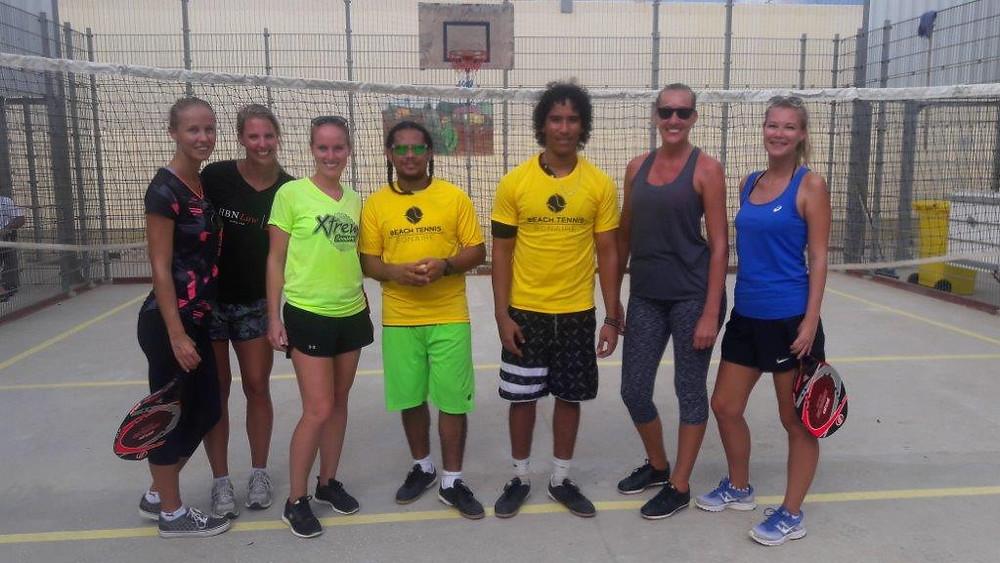 XpBonaire, IslandLife, bonaire, news, information, RCN, Collaboration, Bonaire Beach tennis, Correctional institute caribbean Netherlands