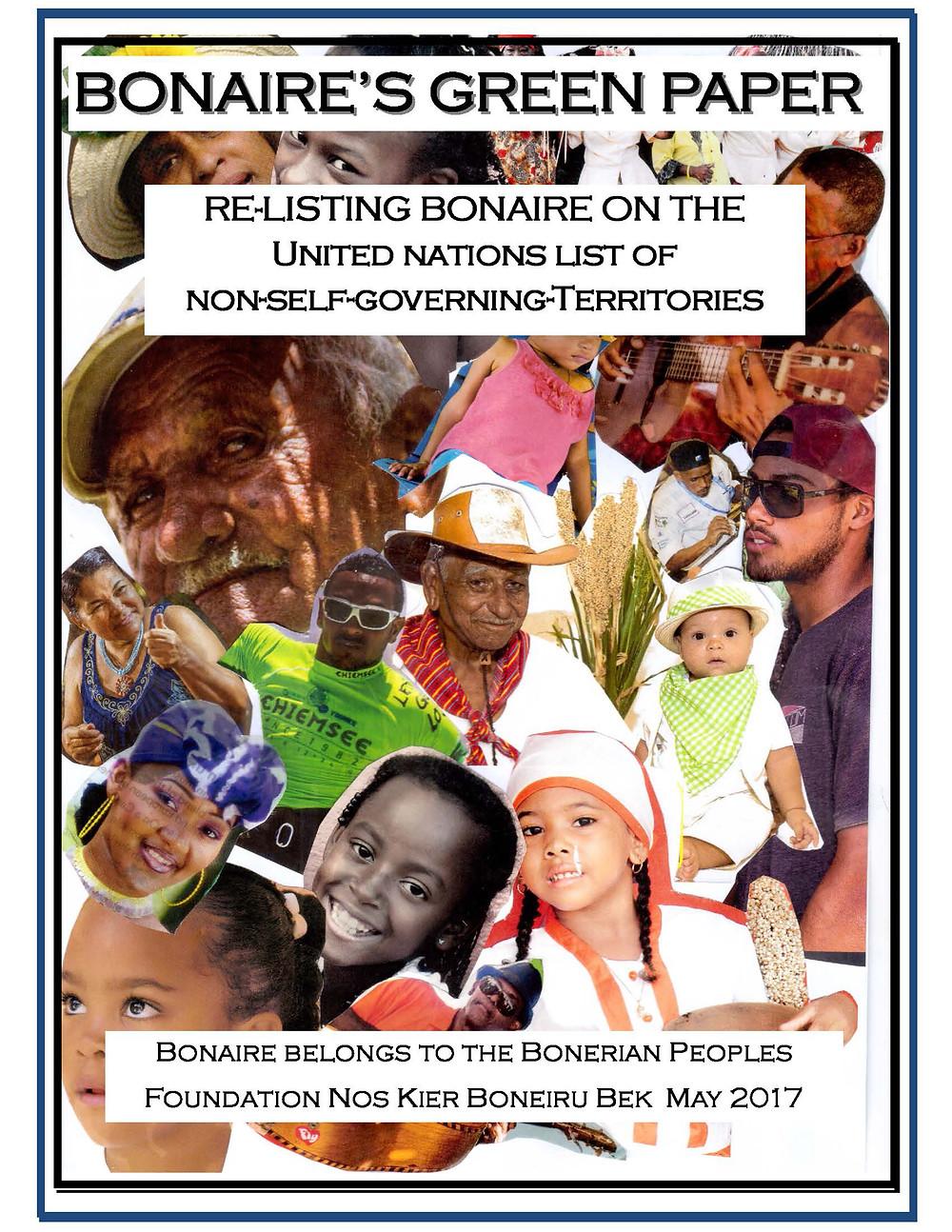 XpBonaire, IslandLife, Bonaire, News, Information, NKBB, Bonaire's Green paper