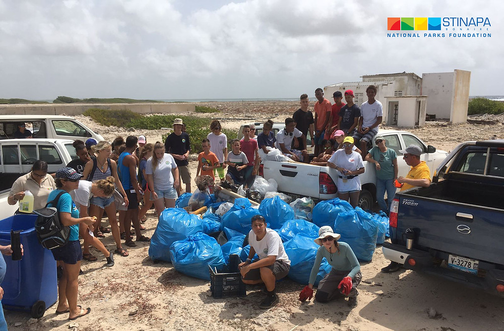 XpBonaire, IslandLife, Bonaire, News, Information, STINAPA, Oil spill, Clean Up