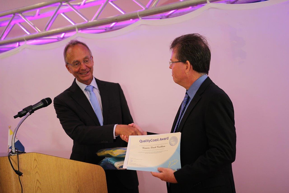 Bonaire, XpBonaire, News, Information, Coastal Award, Sustainable Tourism, TCB