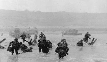 Omaha Beach Americans Landing