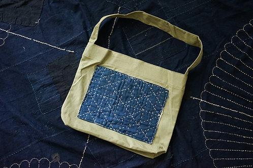 Musette bag - VTG Sashiko Boro | Simple Union