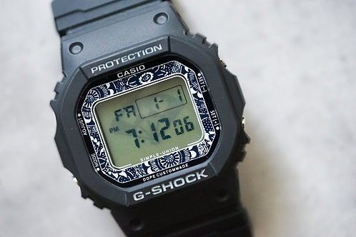 Casio G Shock 5600 - Katazome