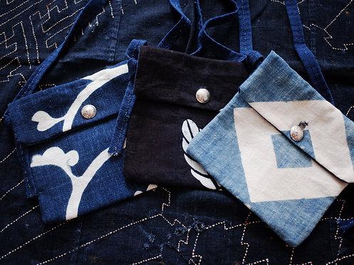 Medicine Bag - Vintage Kofu  Pattern