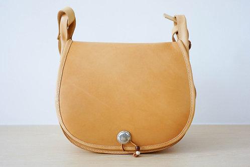 Hunting Satchel Bag Leather - Natural