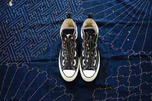 Vintage Pattern Kofu Zip Tag