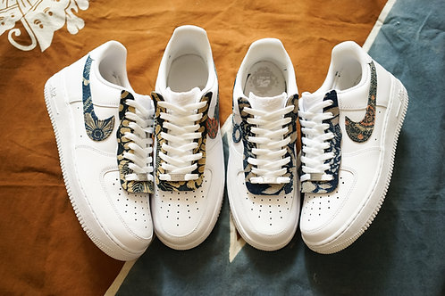 Nike Air Force 1 - VTG Kofu Set With Swoosh and Lacecover | Simple Union
