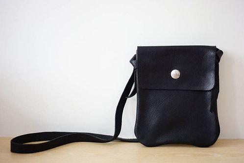 Medicine Leather Bag L -BLK