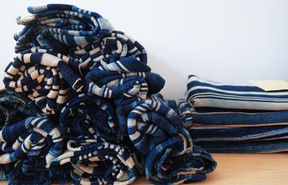 Vintage African Indigo Stole | Simple Union