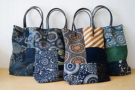 Patchwork Tote Bag | Indigo |Simple Union