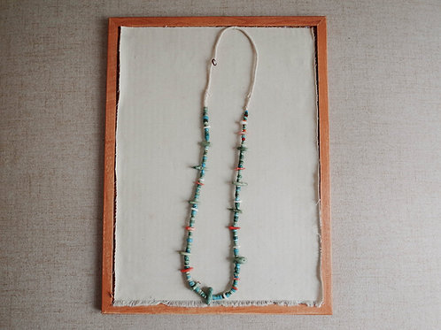 Vintage Santo Turquoise Necklace