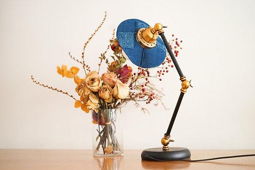 Table Lamp - Vintage Indigo    Simple Union