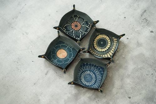 Leather Tray - VTG Kofu   Simple Union