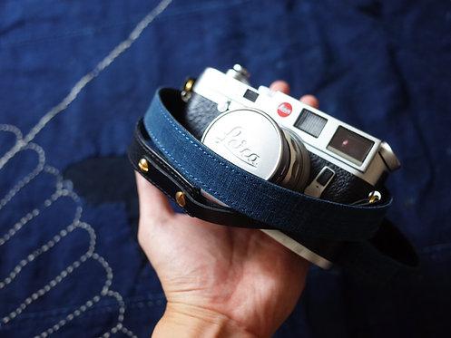 Camera Strap Premium - Vintage Indigo