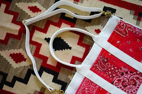 Canvas Tote Bag - Vintage Bandana