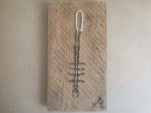 Vintage Navajo Naja 925 Silver Necklace