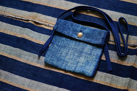 Indigo Medicine bag | Simple Union | Visvim