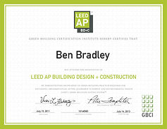 Bent Construction Commercial General Contractor in Jacksonville, LEED accredited professional