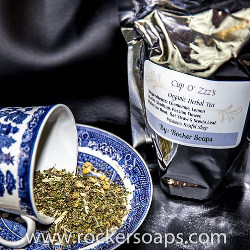 """Cup of ZZZs"" Organic Herbal Tea"