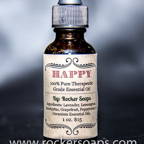 Happy Pure Essential Oil Spray