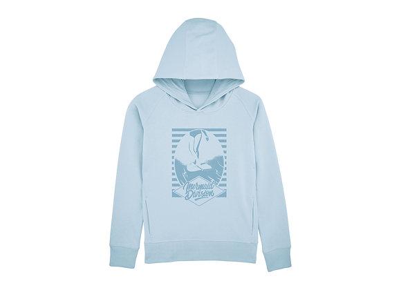 Raglan sleeve hoodie « Mermaid Division »
