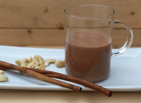 Hot and raw Chocolate